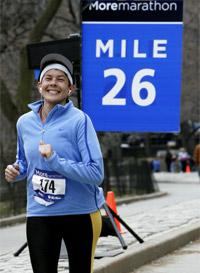Diana Fletcher - Marathon Runner